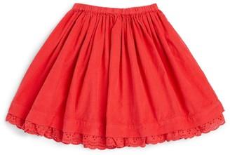 Bonton Embroidered Skirt (4-12 Years)
