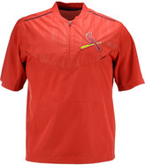 Majestic Men's Short-Sleeve St. Louis Cardinals Authentic Collection Training Jacket