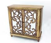 Leamon Wooden 2 Door Accent Cabinet Astoria Grand