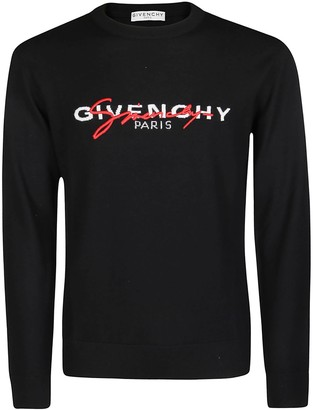 Givenchy Signature Logo Embroidered Jumper