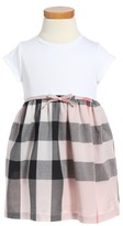 Burberry Toddler Girl's Mini Rosey Check Cotton Dress