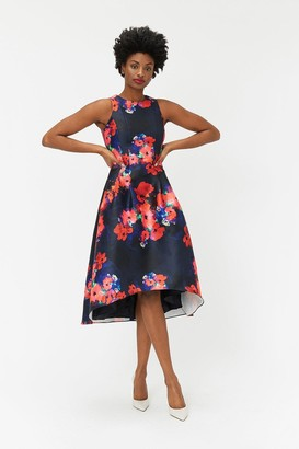 Coast Twill Full Midi Dress