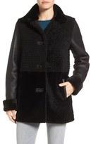 Blue Duck Grooved Genuine Shearling Jacket