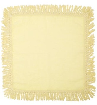 Peter Pilotto Once Milano - X Fringed Napkin - Yellow