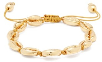 Tohum Puka Shell Charm 24kt Gold-plated Bracelet - Gold