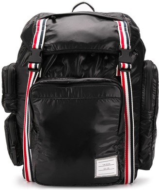 Thom Browne 4-Bar detail backpack