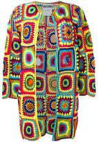Moschino crochet cardigan - women - Cotton/PVC - S