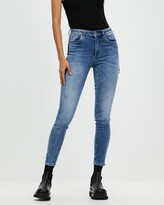 Thumbnail for your product : Neuw Women's Blue Skinny - Smith Skinny Jeans - Size 28 at The Iconic
