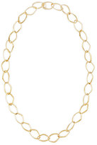 Rina Limor Fine Jewelry New Essentials 18k Gold Abstract Link Necklace, 32""