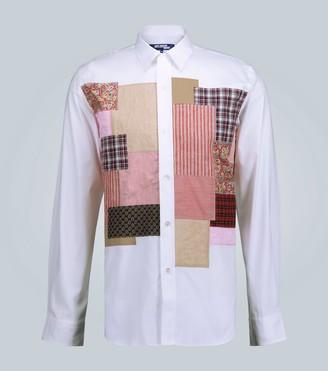 Junya Watanabe Patchwork regular-fit shirt
