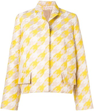 Marni Houndstooth Jacket