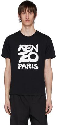 Kenzo Black Paris T-Shirt