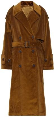 Acne Studios Belted corduroy coat