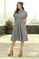 Shabby Apple Tarzan Gingham Dress