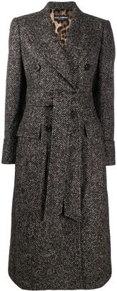 Dolce & Gabbana Double-Breasted Midi Coat