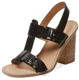 Marc by Marc Jacobs Leather T-Strap Sandal