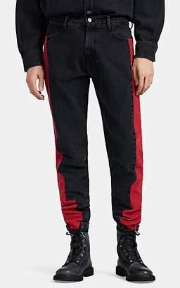 424 Men's Canvas & Denim Slim Jeans