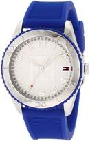 Tommy Hilfiger Women's 1781129 Blue Silicone Quartz Watch with Dial