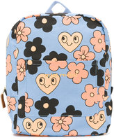 Mini Rodini Flowers backpack - kids - Organic Cotton - One Size