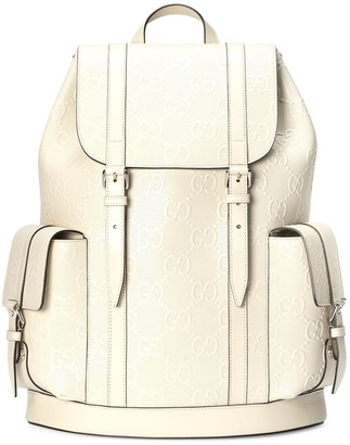 Gucci GG monogram-embossed backpack
