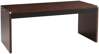 Ralph Lauren Home Barnes Desk - Ebonized Sawn Oak/Silver