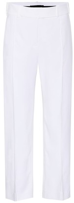 Alexandre Vauthier High-waisted cropped trousers