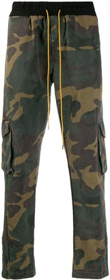 Rhude Camouflage Print Track Trousers