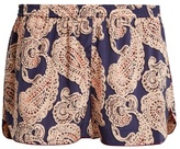 Stella-McCartney-Lingerie STELLA MCCARTNEY LINGERIE Poppy Snoozing paisley-print pyjama shorts