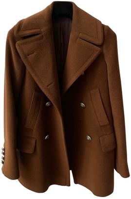 Tagliatore Brown Cashmere Coat for Women