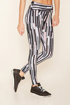Forever 21 FOREVER 21+ Active Abstract Print Leggings