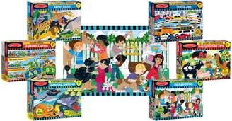 Melissa & Doug Set of 6 Floor Puzzles