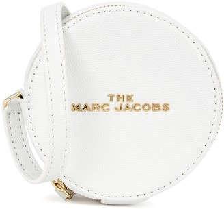 Marc Jacobs The Hot Spot White Leather Cross-body Bag