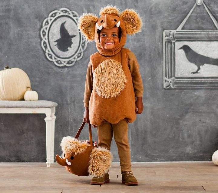 Pottery Barn Kids Woolly Mammoth Costume