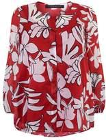 Marina Rinaldi Floral Cotton Shirt