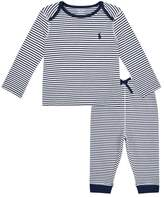 Polo Ralph Lauren Striped Top and Leggings Set