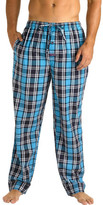 Mitch Dowd Blue Check Yarn Dyed Sleep Pant