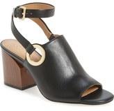 Calvin Klein 'Adria' Wraparound Ankle Strap Sandal (Women)