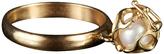 Bijules Locket Akoya Pearl Ring