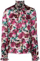 Saloni floral print shirt