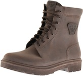 Giorgio Armani Jeans Rubber Work Boots Brown