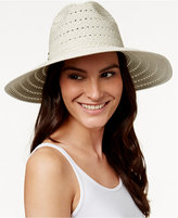 Vince Camuto Metallic Shine Braided Floppy Hat