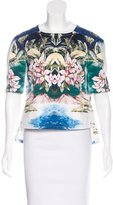 Stella McCartney Tropical Print Short Sleeve Top