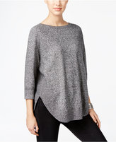 Style&Co. Style & Co. Boat-Neck Ribbed-Hem Sweater, Only at Macy's