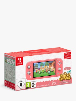 Nintendo Switch Lite, Handheld Console and Animal Crossing New Horizons Game