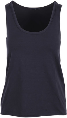 High curve Cotton Tank Top