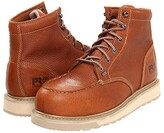 Timberland Barstow Wedge Alloy Safety Toe (Rust) Men's Work Boots