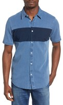 RVCA Men's That'Ll Do Mix Woven Shirt