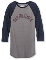 San Francisco Local Pride by Todd Snyder Men's Raglan Tee - Heather Gray