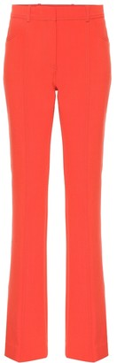 Victoria Victoria Beckham Exclusive to Mytheresa mid-rise flared wool-blend pants