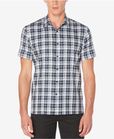 Perry Ellis Men's Big & Tall Sommerset Plaid Shirt